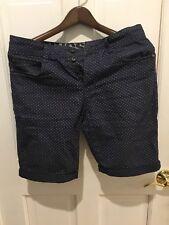 Ringspun Polka Dot Navy Shorts Mens Small