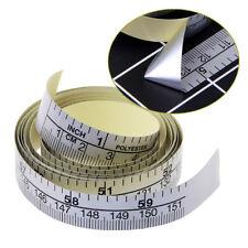 Self Adhesive Metric Measure Tape Vinyl Ruler 151cm For Sewing Machine Sticker