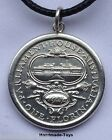 1927 Commemorative Australian Florin sterling silver .925 coin Pendant