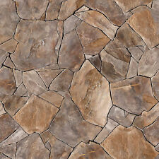 16 SHEETS EMBOSSED BUMPY paper flagstone wall 21x29cm SCALE 1/24   h3h3q