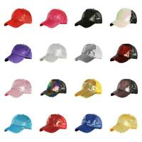 2019 Blank Curved Plain Visor Hat Adjustable Pure Color Women Men Baseball Caps