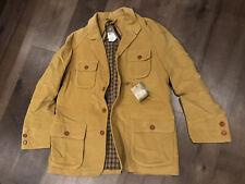 BERETTA - Moleskin Coat - 40 - Shooting Jacket - Camel - Italian - $595
