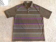 Mens Nike Golf Large Striped Polo Shirt