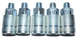 Amflo C7 Coupler 1/4 Npt Male (5 Pack)