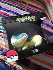 TOMY Pokemon Legacy Sleeping Cyndaquil Plush Toys R Us EXCLUSIVE.  NEW.  Limited