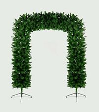 8ft (2.4m) Tall Premier Indoor / Outdoor Christmas Tree Arch in Green