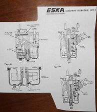 GAMEFISHER 217. ted williams 217.  by eska carb rebuild kit 3-15hp