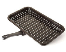 Replacement Extra Grill Pan Tray Rack Removable Detachable Handle Enamel Cooker