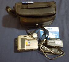 SONY Still Digital CAMERA Mavica MVC-FD71 2X  w/original CD-ROM and case battery