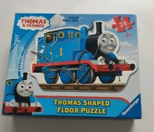 Thomas & Friends Thomas Shaped Floor 24 Pc Ravensburger Puzzle 3ft by 2ft