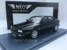 NEO SCALE 1/43 MASERATI QUATTROPORTE V8 1988 BLACK Art. NEO45170