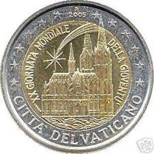 2 euro Vaticano commemorativo dal 2004 al 2019 Vatican Vatikan serie completa