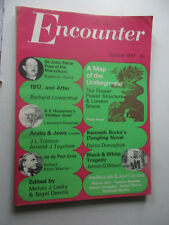 Encounter mag October 1967 vol 29 no. 4 Flower power / Black & White tragedy