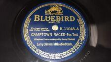 Larry Clinton Camptown Races / Abercrombie Had a Zombie 78 Bluebird B-11048