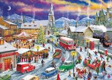 GIBSONS DRIVING HOME FOR CHRISTMAS LIMITED EDITION 1000 PIECE JIGSAW PUZZLE 2018