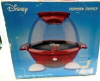 Disney Popcorn Popper Back To Basics Red Mickey Theater Style  ultra rare