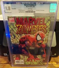 MARVEL ZOMBIES #1 CGC 9.8 VARIANT EDITION SPIDER-MAN #1 COVER HOMAGE
