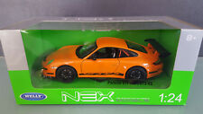 Welly 1 24 PKW  Porsche 911 (997) GT3 RS orange