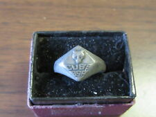 Cubs BSA Size 6 Sterling 1950-60's Ring Sterling  c46