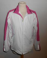 20 260/5 Tchibo TCM Body Style Damen Sport Weste Jacke Gr. 36/ 38 weiß pink