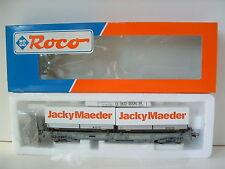 """ROCO H0 46371 Einheitstaschenwagen SBB CFF """"JackyMaeder"""" OVP M354"""