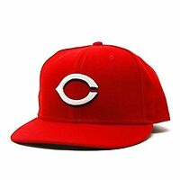Cincinnati Reds Performance New Era Official On-Field Fitted Cap 7 5/8