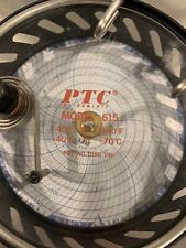 Ptc Instruments 24 Hour Recording Thermometer Model 615f Range 40f To 160f