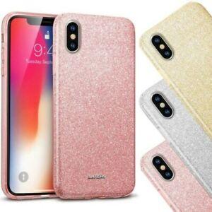 Mince Protection Silicone Coque Étui Portable pour Téléphone Scintillant TPU