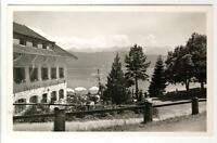 AK Urfeld, Walchensee, Hotel Post und Jäger am See 1950