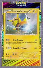 🌈Pikachu Catcheur-XY00:Kit Pikachu&Suicune-14/30-Carte Pokemon Neuve Française