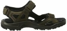 Ecco Yucatan Men's Off-road Comfort Sandals Leather Shoe Tarmac Moon Rock 45 EU