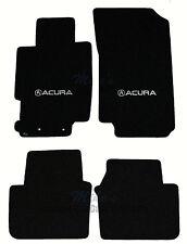 LLOYD Classic Loop™ Ebony FLOOR MAT SET logos on front mats, 2004-2008 Acura TL