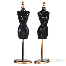 For Barbie Doll Display Holder Dress Clothes Gown Mini Mannequin Model Stand BC4