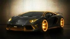 Lamborghini Aventador Tron Photo High Gloss Wallpaper Poster Banner