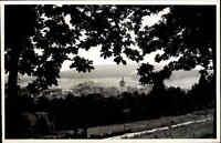 Neukirchen Knüll Hessen Schwalm ~1950/60 Panorama Landschaft Kirche Wald Natur