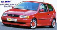 VW Polo 6N GENUINE MS DESIGN BODY KIT (Front Bumper, Side Skirts, Rear Apron)