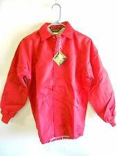 NOS Vtg '70's Dunbrooke Pla-Jac Baseball Windbreaker Jacket Youth Size XL USA!
