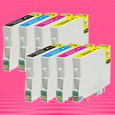 8 NON-OEM INK alternative for EPSON T0441 T0442 T0443 T0444 Stylus CX6400 CX6600