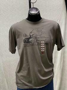 Harley Davidson Willie G Flaming Wheel T-Shirt