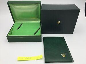 Vintage Genuine ROLEX Watch Box Case Coffin box r30510006