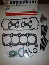FIAT PUNTO MK2 1.2 1242cc 8v 1999-2005 HEAD GASKET SET HEAD BOLTS & THERMOSTAT