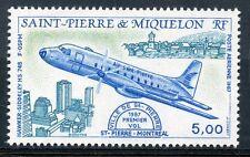 STAMP / TIMBRE SAINT PIERRE ET MIQUELON NEUF P.A. N° 64 AVION