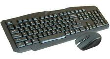 Infapower Wireless Waterproof Keyboard With Mouse Set Combo for PC/Mac Laptop