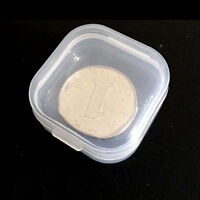 10X Clear Plastic Transparent With Lid Storage Box Collection Container Case SK