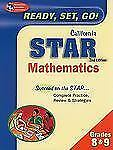 California Star Rea: The Best Test Prep for 8th Grade Math (Test-ExLibrary