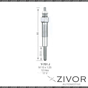 NGK GLOW PLUG For FORD Y-701J *By Zivor*