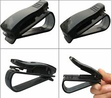 Simple Universal Clips Holders For Card Ticket Pen Car Auto Visor Glasses Useful