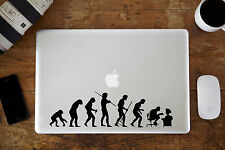 "Evolution Gone Wrong Decal for Apple MacBook Air/Pro Laptop 11"" 12"" 13"" 15"""