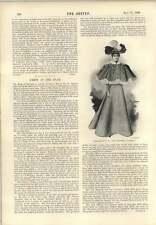 Disfraz de 1896 etapas Miss Hanbury en el prisionero de Zenda