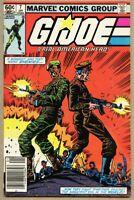 G.I. Joe A Real American Hero #7-1983 fn 6.0 1st Marvel GI G I Newsstand